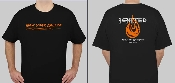 Ignited New York Ablaze T-Shirt (Orange)